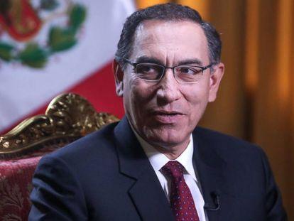 El presidente peruano, Martín Vizcarra.