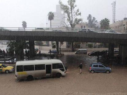 Amán, durante unas inundaciones en una imagen de archivo de 2015. En vídeo, al menos 18 muertos y 16 desaparecidos en las inundaciones en Jordania