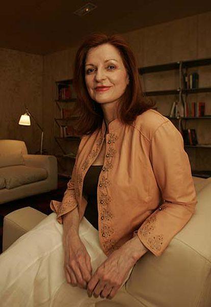 La periodista Maureen Dowd, el viernes en Madrid.
