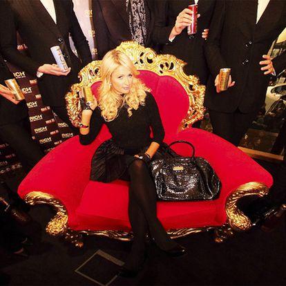 Paris Hilton, una de las famosas más activas en las redes sociales.