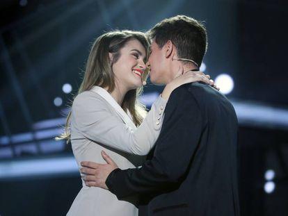Amaia y Alfred, representantes de España en Eurovisión 2018.