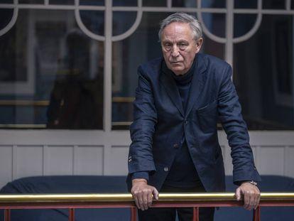 El polaco Krzysztof Piesiewicz, el martes en la Filmoteca Española.