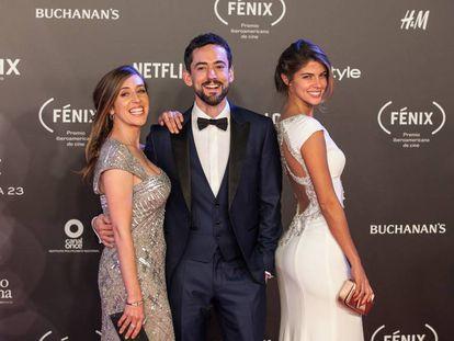 Mariana Treviño, Luis Gerardo Méndez y Stephanie Cayo.