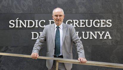 El 'sindic de greuges', Rafael Ribó.