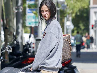 Victoria Marichalar, en Madrid, esta semana.
