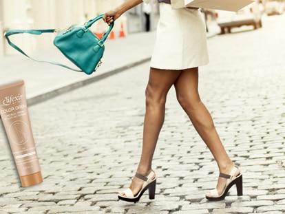 'Color Dren' es un producto pensado para conseguir un color natural y bonito en las piernas. GETTY IMAGES
