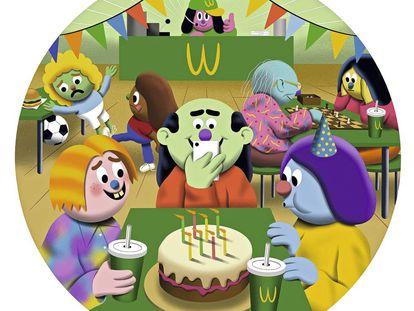 Ajedrez en Starbucks, cumpleaños en McDonald's. El recurso de los que tienen pocos recursos.