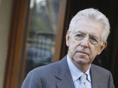 El economista y excomisario europeo Mario Monti, favorito para convertirse en primer ministro en sustitución de Silvio Berlusconi