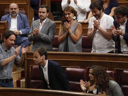 Debate de investidura en el Congreso de los Diputados.