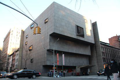La nueva sede temporal de la Frick Collection, una obra maestra del brutalismo de Marcel Breuer, terminada en 1966.