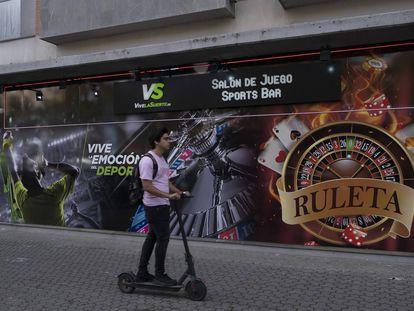 Un local de juego en Sevilla.