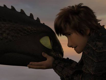 Fotograma de 'Cómo entrenar a tu dragón 3', dirigida por Dean DeBlois.