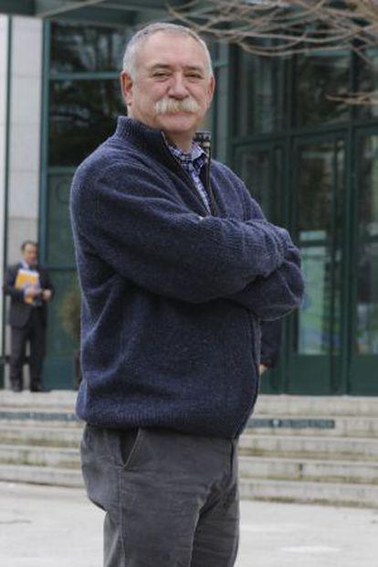 Jesús Ezcurra, en Vitoria.