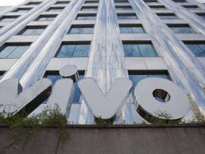 Fotografía de la fachada de la sede de Vivo en Sao Paulo (Brasil). EFE/Archivo