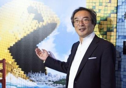 El creador del Comecocos, Toru Iwatani, en 2015.
