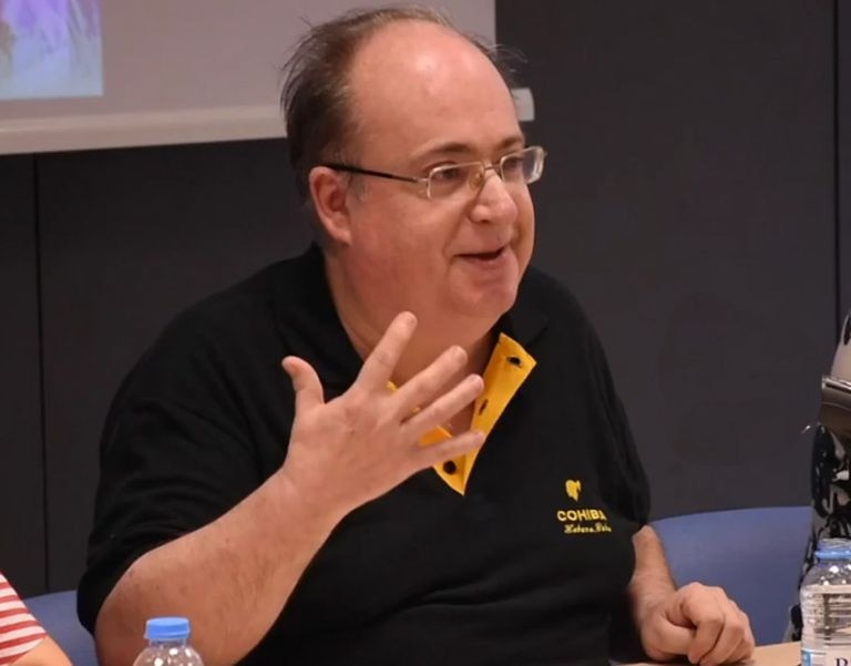 El historiador del arte Jaume Barrachina.