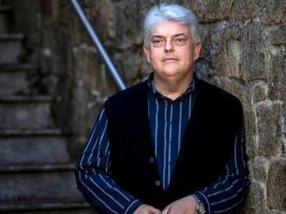 El historiador Xosé Manoel Nuñez Seixas, en Santiago de Compostela este 23 de marzo.
