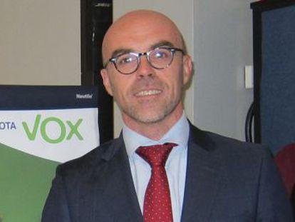 Vox, el nuevo partido ultranacionalista español, presenta a un seguidor de José Antonio Primo de Rivera como cabeza de lista para las elecciones europeas