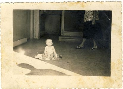 Fotografía de la niña Begoña Urroz Ibarrola que fue asesinada el 27 de junio de 1960 en la consigna de la estación de Amara (San Sebastián).
