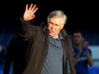 El entrenador Carlo Ancelotti, en Liverpool el pasado mayo.