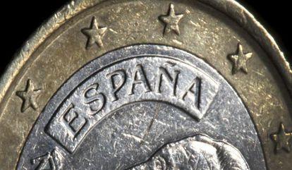 Moneda de euro.