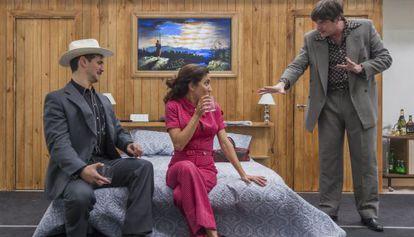 Fran Perea, Toni Acosta y Javier Marquez.