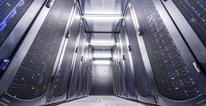 Centro de datos de Interxion en Madrid.
