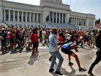 Las protestas del pasado domingo 11 de julio, en La Habana.