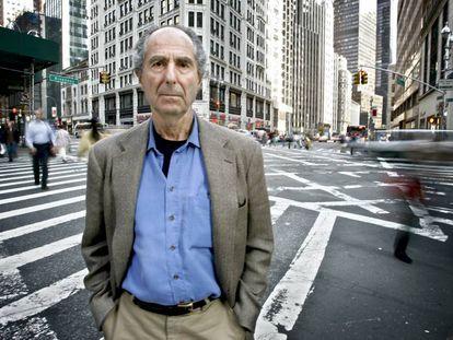Philip Roth, en Nueva York en 2007.