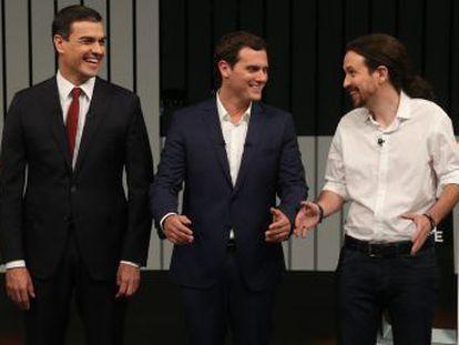 La obsesión hacia Iglesias liberó de presión a Rajoy en un debate tan inédito como decepcionante