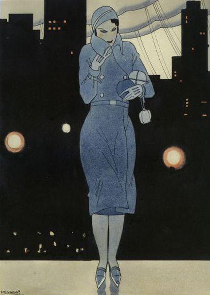 Portada de Rafael Penagos para ABC en 1931.