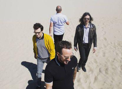 Los componentes de Weezer.
