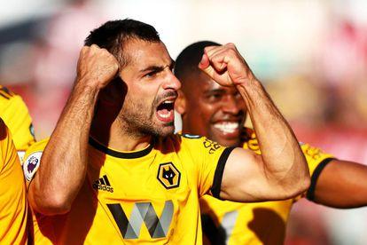Jonny celebra su gol con el Wolverhampton el pasado fin de semana.