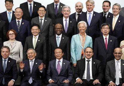 Ministros de Finanzas del G20 en Fukuoka (Japón).