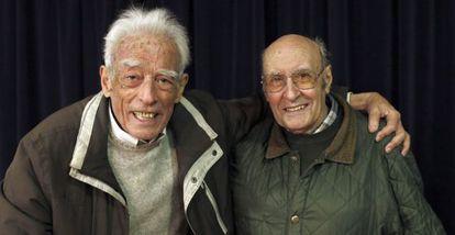Francisco García Salve, a la izquierda, y Mariano Gamo.