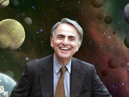 Carl Sagan, en una imagen de la Agencia Espacial Norteamericana.