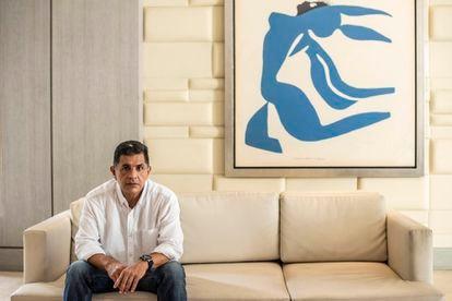 Jorge Iván Ospina, alcalde de Cali, fotografiado en un hotel en el centro de la ciudad el viernes.