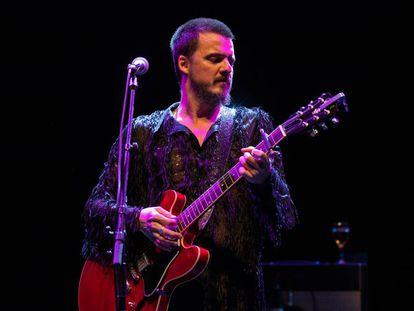 Coque Malla, en su actuación del sábado en Valencia.