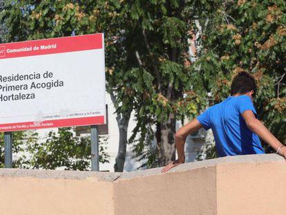 Centro de primera acogida en el barrio de Hortaleza. En vídeo, imágenes de los asaltantes en Hortaleza.