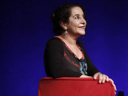 Helena Pimenta, directora de la Compañía Nacional de Teatro Clásico, el martes en Madrid.