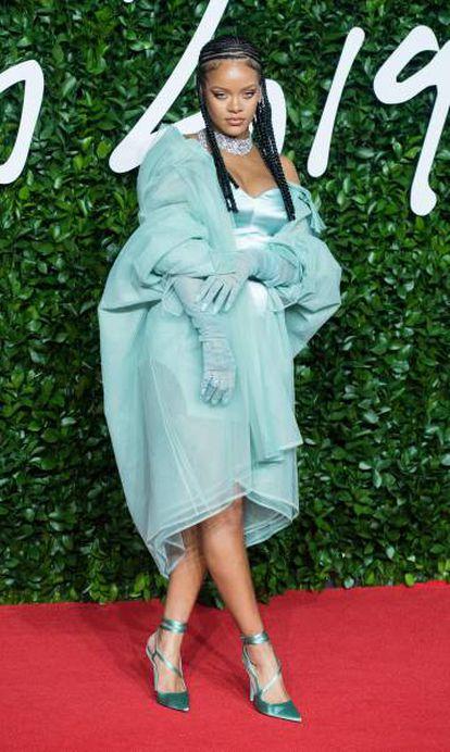 Rihanna, en los Premios de la Moda, en Londres, el 2 de diciembre.