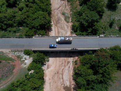 Un puente en Haití.