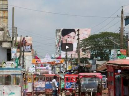 Acompañamos a las personas que cosen la ropa a bajo coste fabricada en Dacca. Sus condiciones de vida son testimonio de los efectos de la globalización en las poblaciones más pobres