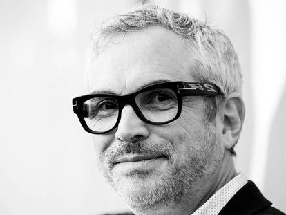 Alfonso Cuarón en agosto de 2018 cuando presentó 'Roma' en el Festival de Cine de Venecia.