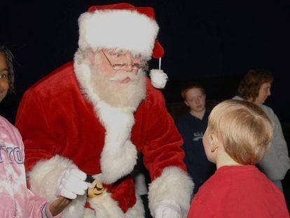 Un estudio revisa por primera vez el criterio de las visitas de Santa Claus.