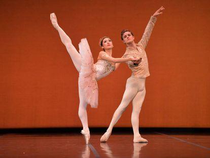 Haruhi Otani y Yanier Gómez, en el nuevo programa de estreno de la Compañía Nacional de Danza