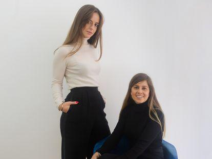 La navarra Blanca Pascual, y la gallega Clara Andrade, fundadoras de La Pera Projects.