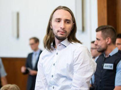 Wenergold, antes de conocer la sentencia que le condena a 14 años de cárcel.