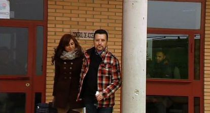 José Ortega Cano y su pareja Ana María Aldón.