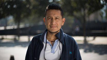 Jesús Espinosa, nacido en la Ciudad de México, votó por Trump.